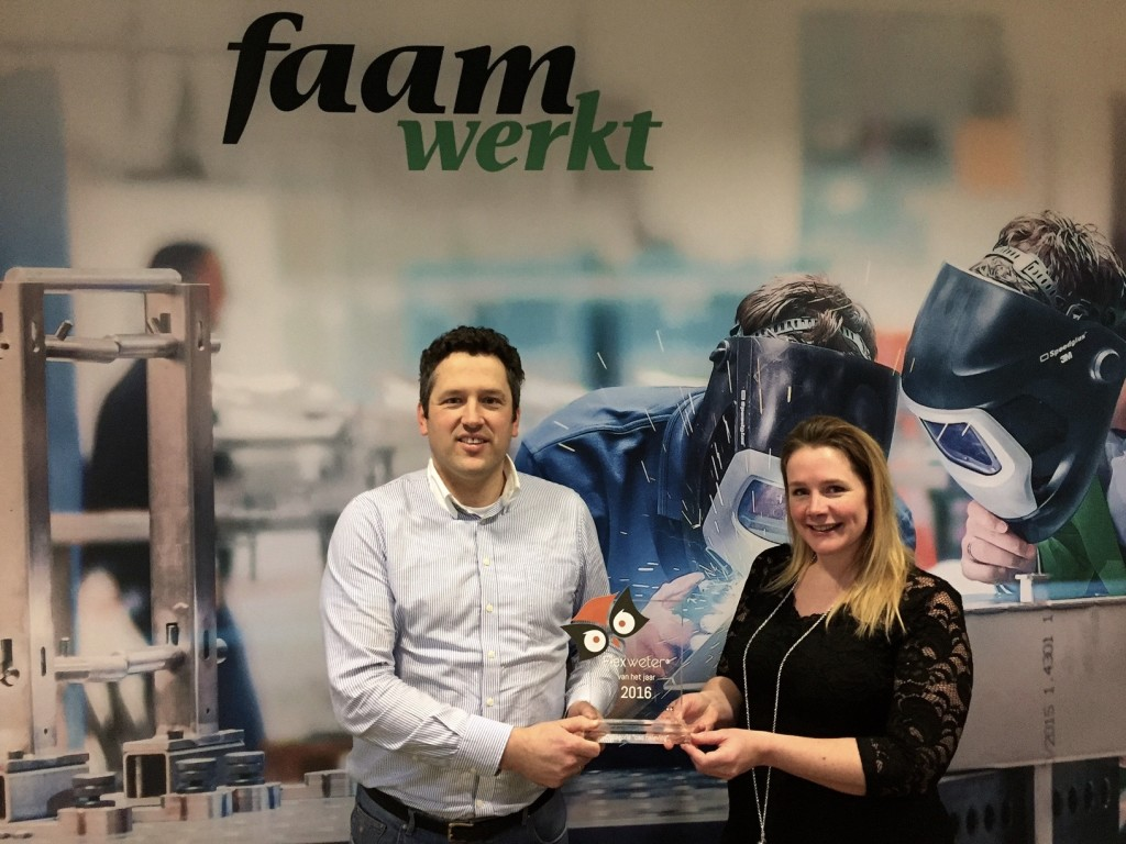 Award winnaars 2016 - Flexweters®